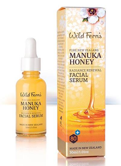 Wild Ferns Manuka Honey Radiance Renewal Facial Serum 30ML