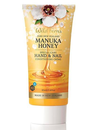Wild Ferns Manuka Honey Special Care Hand and Nail Conditioner Crème 85ML