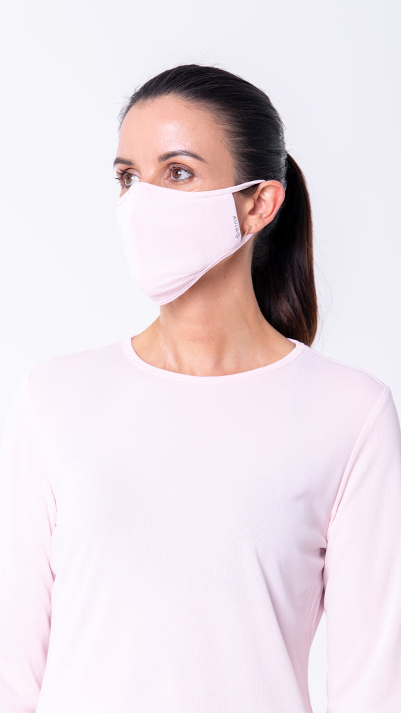 AVIRO HeiQ Viroblock Reusable Face Masks - 2 Pack