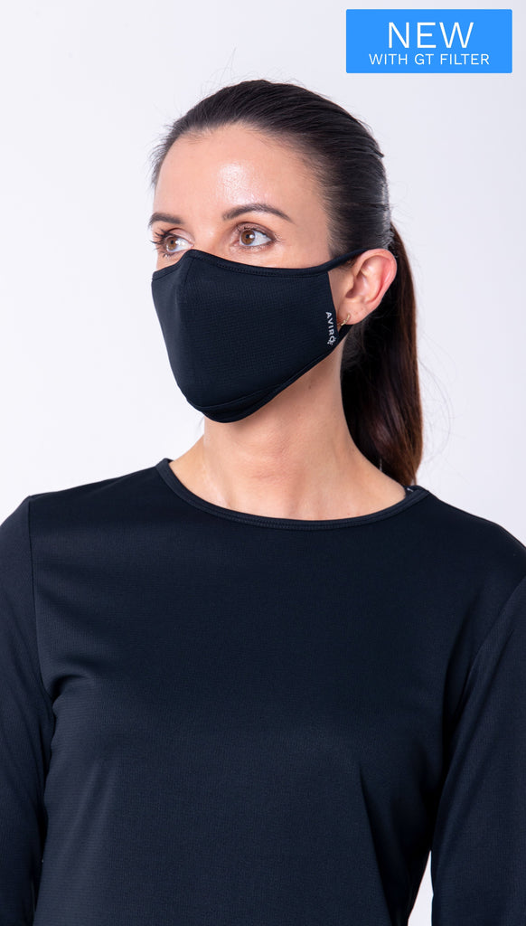 AVIRO Reusable Face Masks with GT-filter - Single Mask