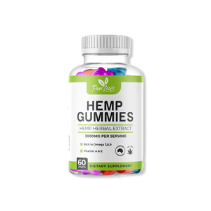 Pure Leafs Hemp infused Gummies 3000mg-Pure Leafs