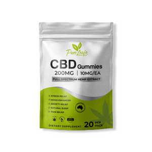Pure Leafs CBD Infused Gummies 200mg-Pure Leafs
