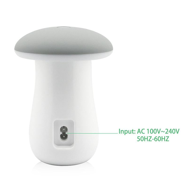 Mushroom Night Lamp + USB Ports