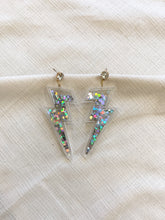 Load image into Gallery viewer, Confetti Bolt Earrings