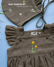 Load image into Gallery viewer, Organic Baby Romper Set