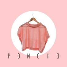 Load image into Gallery viewer, Organic Cowl Neck Poncho