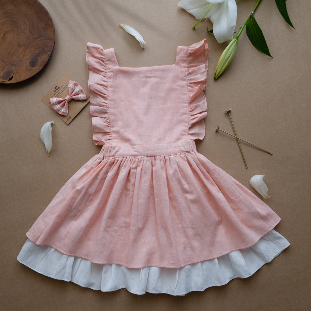 Organic Cotton Pinafore Dress