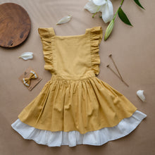 Load image into Gallery viewer, Organic Cotton Pinafore Dress