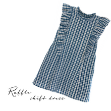 Load image into Gallery viewer, Ruffle Shift Dress