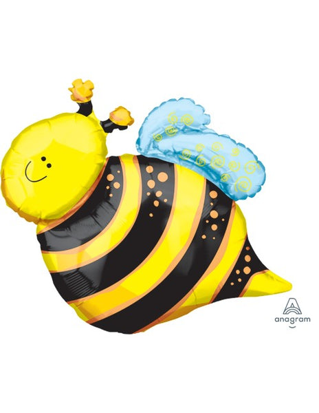 "Happy Bee - SuperShape (24"") *Helium*"