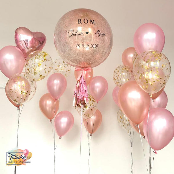 *OCT-NOV RM299* Lady Rose Gold *Helium*