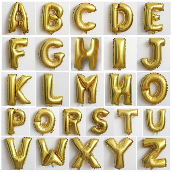 "14"" Letter Small Foil (GOLD) *Normal Air*"