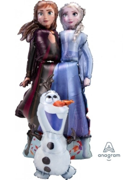 "Frozen Elsa Anna Olaf Air Walker (68"") *Helium*"