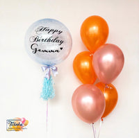 *March & April RM99* Orange & Rose Gold Theme *Helium*