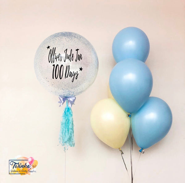 *JAN-FEB RM99* Pastel Yellow & Blue Theme *Helium*