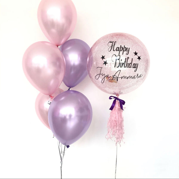 *JAN-FEB RM99* Light Pink & Purple Theme *Helium*