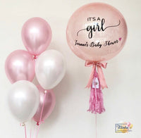 *OCT-NOV RM99* Baby Pink Theme *Helium*