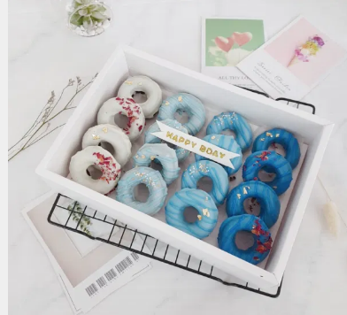 Blue Ombre Donut Gift Box (2 days Preorder)