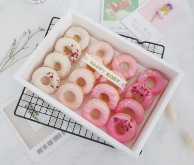 Pink Ombre Donut Gift Box (2 days Preorder)