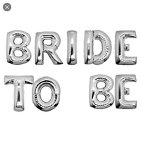 "16"" Bride To Be Foil"
