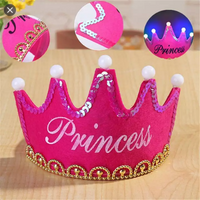 Princess Crown With LED Lights