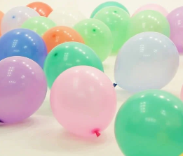 "12"" Round Balloon (NORMAL AIR - FLOOR BALLOON)"