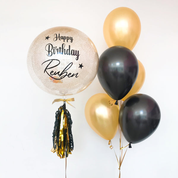 *March & April RM99* Gold & Black Theme *Helium*