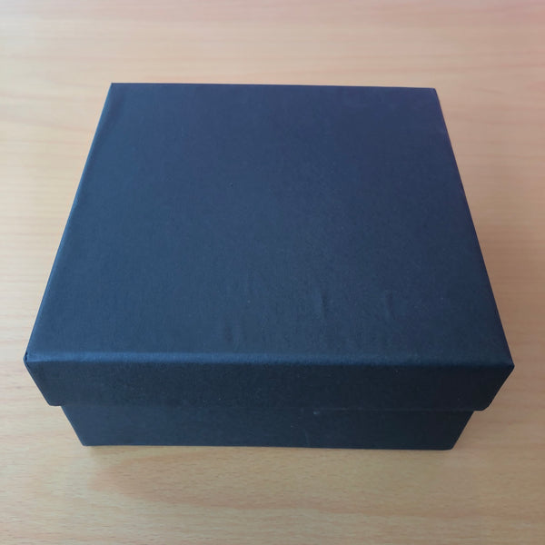 Plain Black Gift Box (Size: Medium)