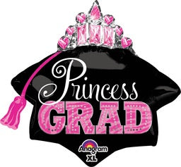 "Princess GRAD Multi-Balloon (26"") *Helium*"
