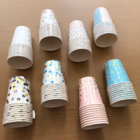 Paper Cups With Designs