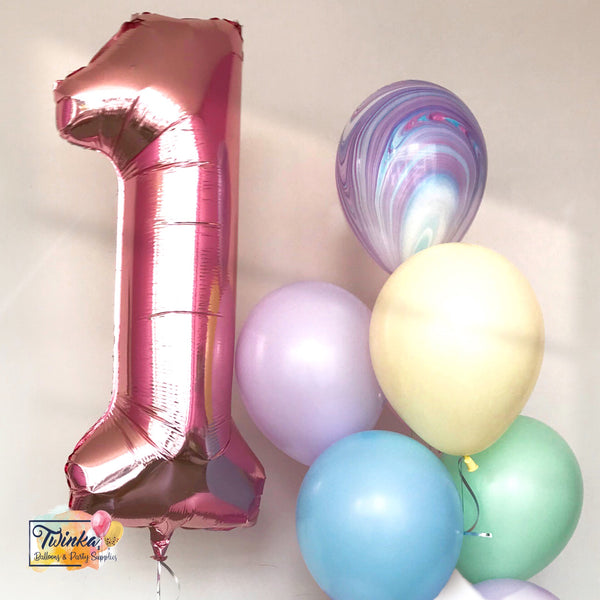 *OCT-NOV RM85* Baby Age Birthday *Helium*