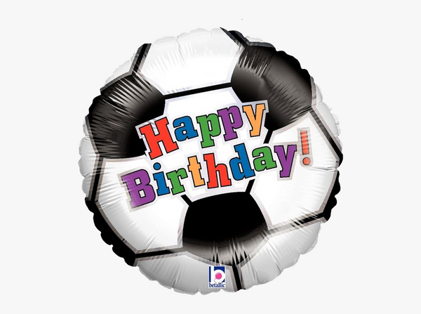 "Soccer Happy Birthday! (18"") *Helium*"