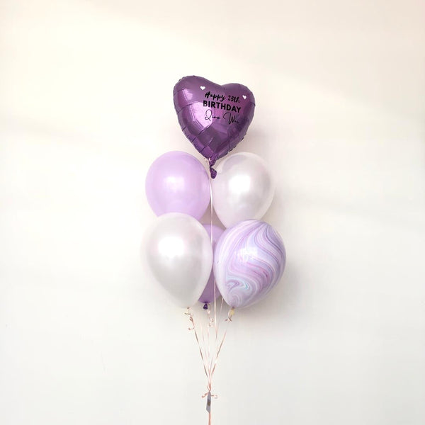 *JAN-FEB RM55* Pastel Purple *Helium*