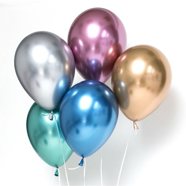 "12"" Chrome Special Balloon *Helium* (Price for One)"