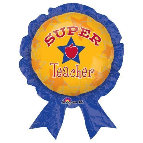 "Super Teacher  (30"") *Helium*"
