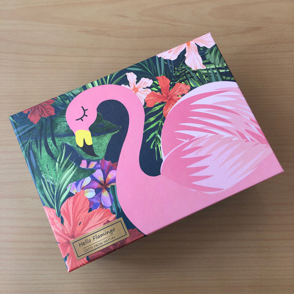 Flamingo Gift Box (Size: Large)