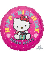 "Hello Kitty Happy Birthday (17"") *Helium*"