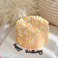 Floral Ink Cake (3 days Preorder)