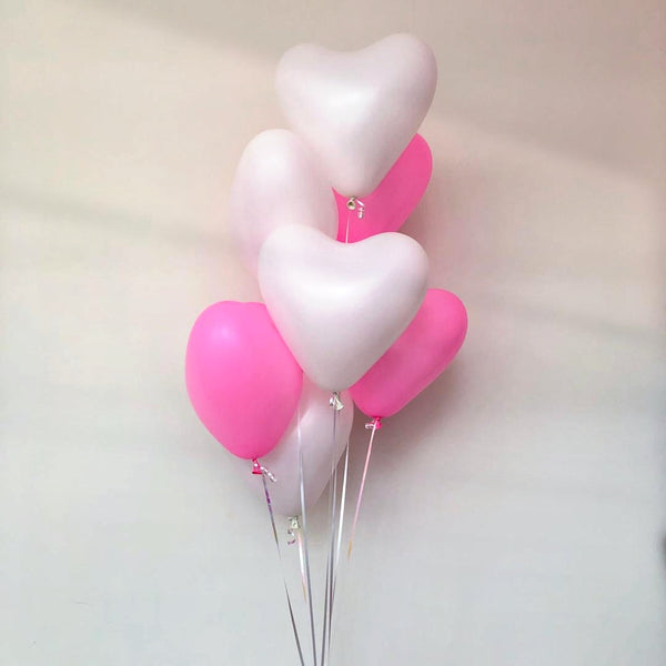 "12"" Latex Heart (Price is for one balloon)  *Helium*"