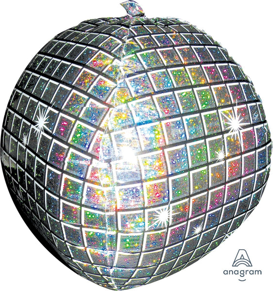 "Disco Ball (15"") *Helium*"