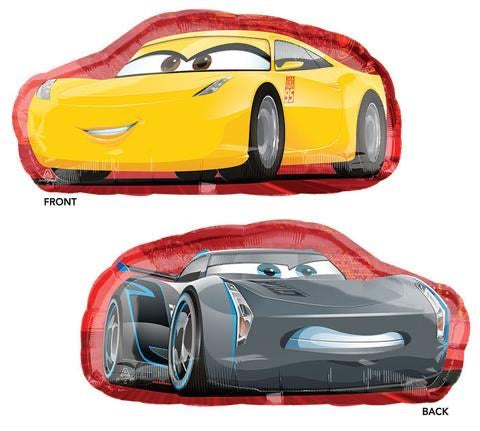 "Disney Cars Supershape  (35"") *Helium*"