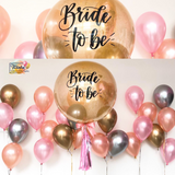 *OCT-NOV RM299* Rose Gold, Chrome Theme *Helium*