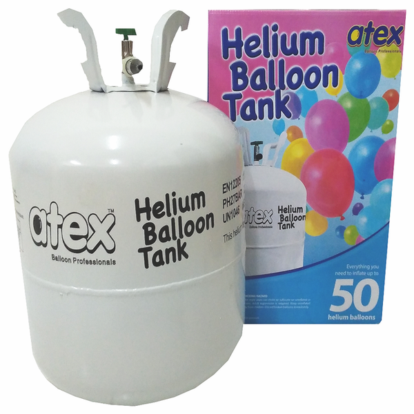 Disposable Helium Tank (inflate up to 50pcs)