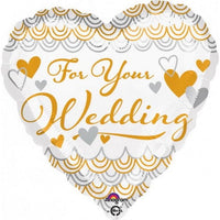 "For Your Wedding (17"") *Helium*"