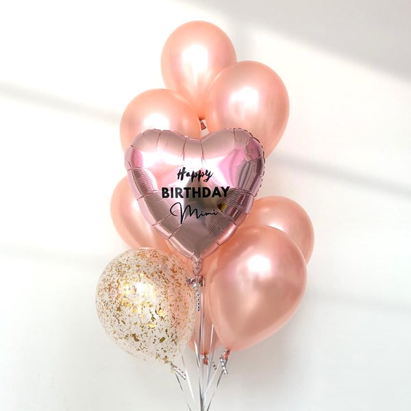 *JAN-FEB RM75* Rose Gold *Helium*