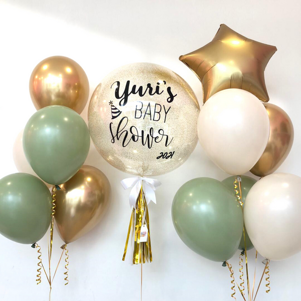 *March & April RM199* Jade Green Chrome Gold *Helium*