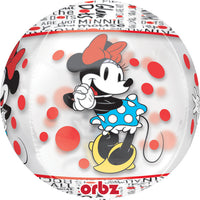 "Minnie Mouse Orbz (16"") *Helium*"