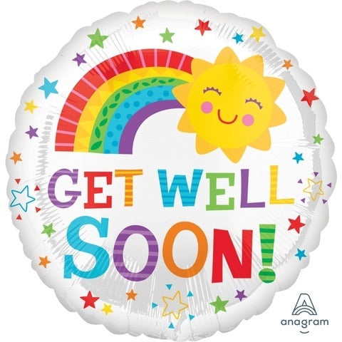 "Get Well Soon! (17"") *Helium*"