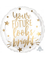 "Your a Future Looks Bright! (17"") *Helium*"