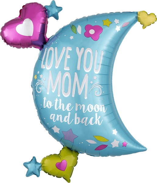 "Love You Mom To The Moon And Back (32"") *Helium*"